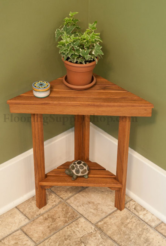 Teak Corner Bench Large By Flooringsupplyshop Com
