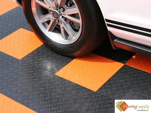 Garage flooring, Garage tile Floor, ceramic Garage tiles, plastic modular, commercial floors