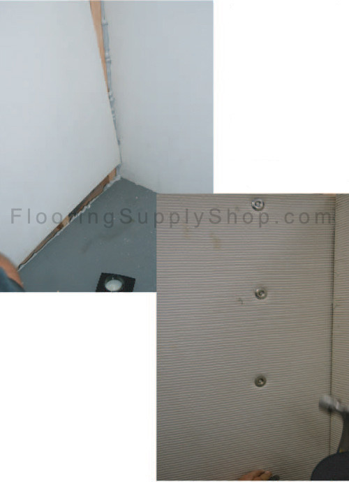 shower pans, ready to tile shower pans, preformed shower pans, ProPan shower pans, waterproof shower pans, wedi shower pan, ez backer board, tile redi shower pan