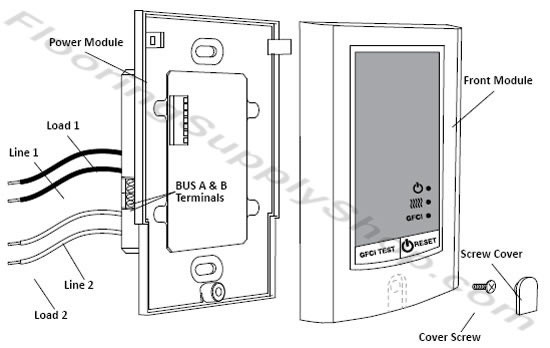 SunStat Relays Control II 500810 Owners Manual