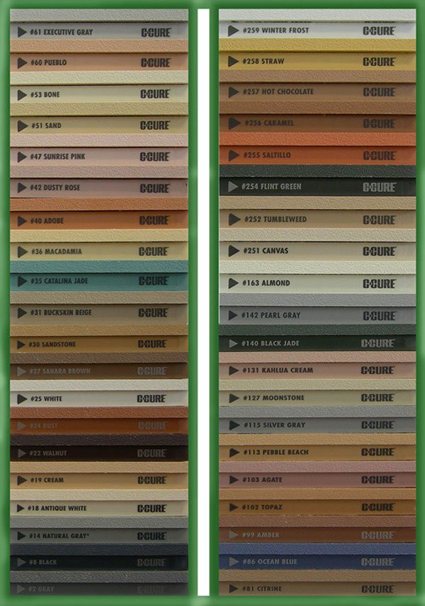 Grout and Caulking Color chart, provide by www.flooringsupplyshop.com flooring supply store in Los Angeles, we cary Tile, Hardwood floors, Stone, Tools for tile and stone, accessories for shower and more