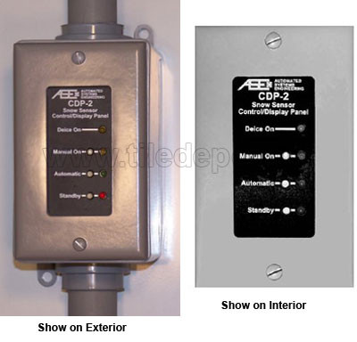 PM-DP Detector Snow and Ice Sensor Controller for Automatically Melting Snow from Sidewalks and Driveways by flooringsupplyshop.com