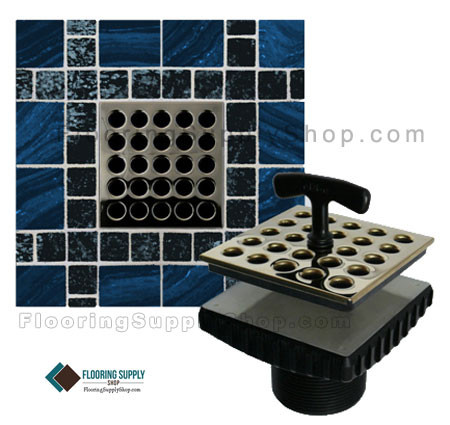 Ebbe shower drain, square shower drain, Ebbe drain, Quartz by aco, Shower Channels, Linear Drain, linear shower channel, shower channel drain, Quick Drain, square drain, rectangle drains, floor grilles, shower grates, Quick Drain