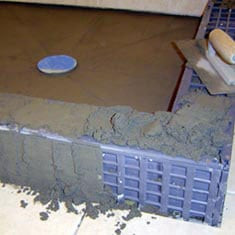 Shower Floor Drainage, Drainage Kit, Shower Floor Drainage Kit, Quick  Pitch, Shower