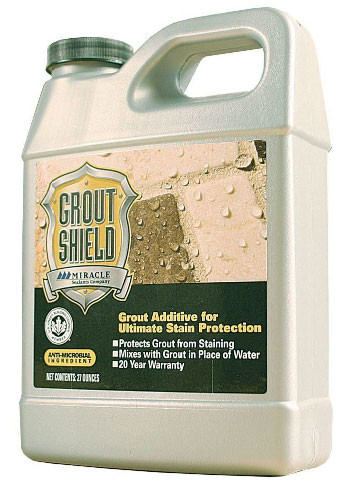 Miracle Grout Shield sealant, sealant, admixture sealant, grout sealant