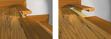 Blog Installations Staircases And Transitions Molding Of