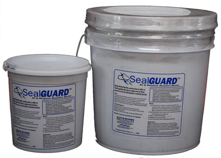 SealGuard Waterproofing Membranes, Seal Guard, Waterproofing Membranes, C-Cure Pro red 986 waterproofing membrane, Setting Material, Thinset, non-sanded Grout