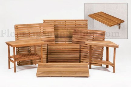 Teak care products, teak repair kit, teak oil cleaning, Teak Shower Furniture, teak bathroom furniture, teak shower seat, teak shower bench, teak shower stool, teak mats