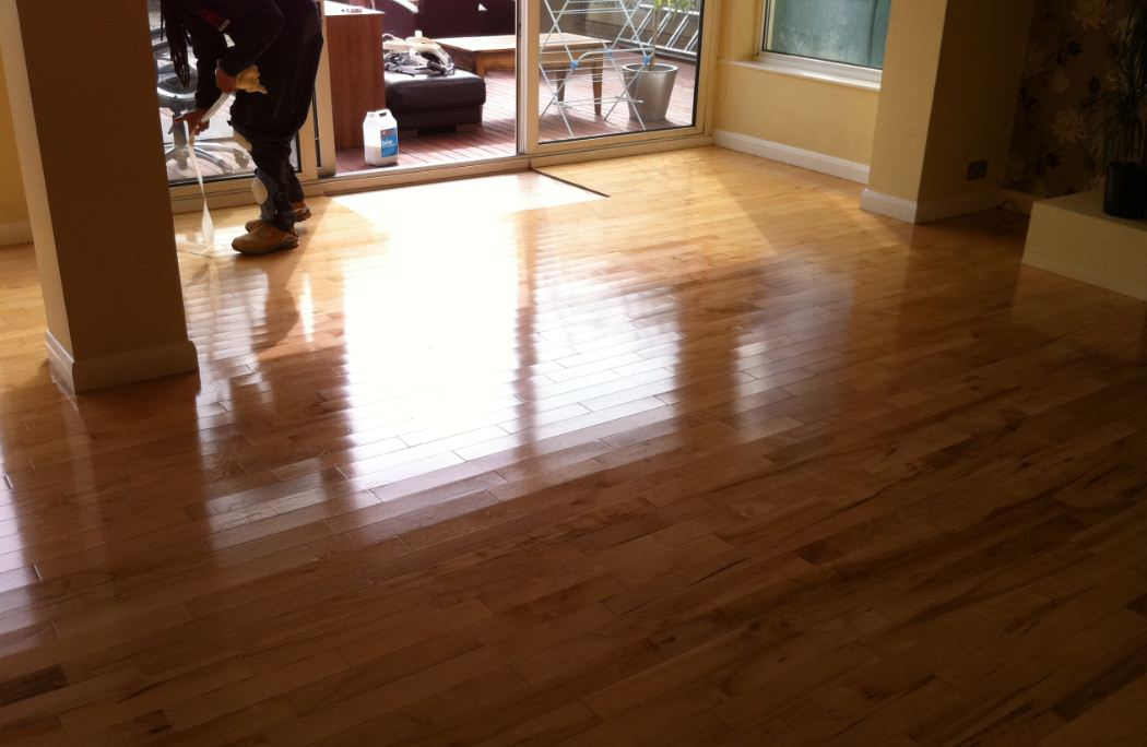 Buffing Laminate Wood Floors