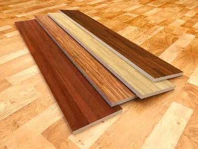 Vinyl plank flooring and installation