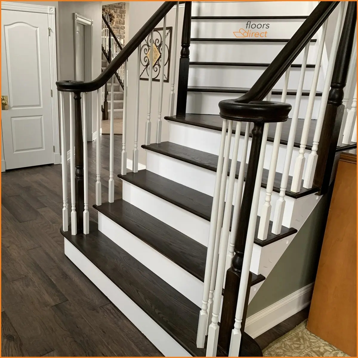 Flooring Installation Alexandria New Jersey Floors Direct   Wood Floors And Stairs Direct   Wide Plank   Floor Covering   Brazilian Cherry   Installation   Maple