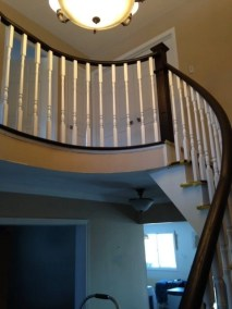 A new custom staircase by Floors Direct North
