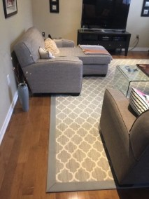 Hardwood floors and an area rug - Floors Direct North