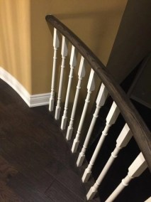 Custom staircase work by Floors Direct North