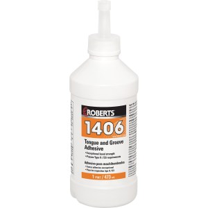 Roberts 1406 Superior Tongue & Groove Adhesive @ Floors Direct North