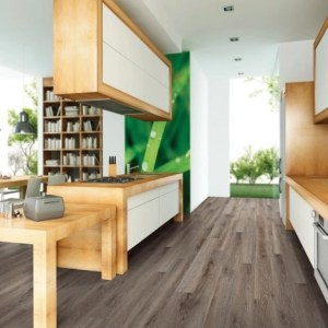 COREtec Galaxy Luxury Vinyl - Cigar Oak (room) @ Floors Direct North