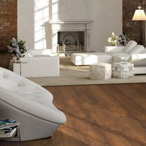 Twelve Oaks Venetian Flair Engineered Hardwood White Oak Boardeaux (room) @ Floors Direct North