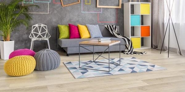 Twelve Oaks Weathered Canvas Solidcore Luxury Vinyl (room) @ Floors Direct North