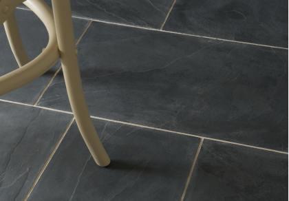brazilian black slate tiles floors of