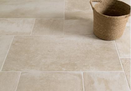 polvere beige porcelain floors of stone