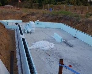Using ICF supplies to build new dwelling