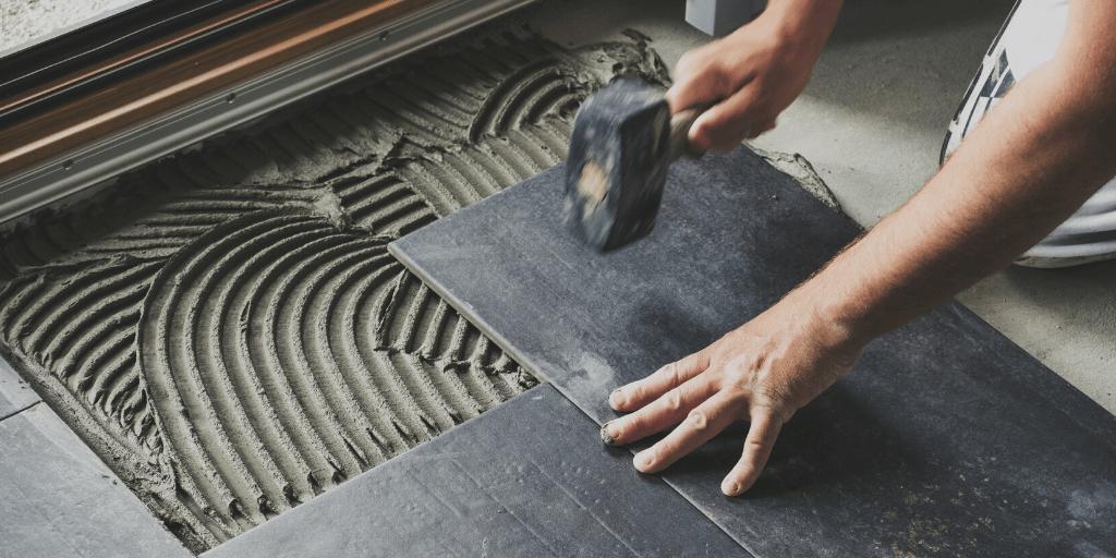 to fix loose or broken ceramic floor tiles