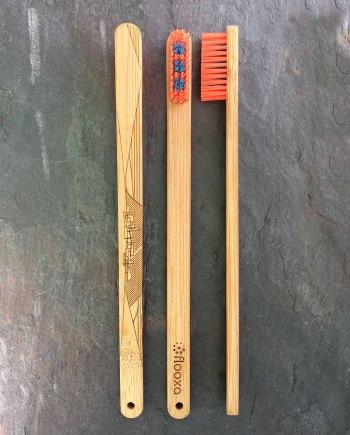 Bamboo toothbrush - Artwork by Angel Lamar - 3 views