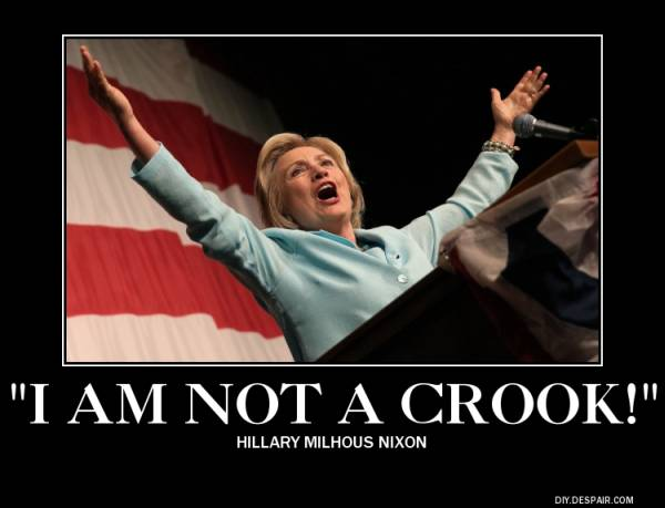 hillary i am not a crook
