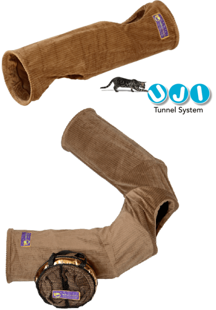 Bonus Giveaway Neko Pawdz I and U Cat Play Tunnels