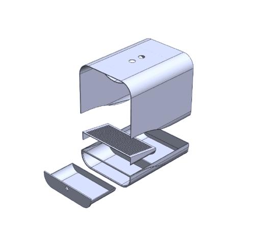 Grand PooBox Modern-Style Covered Litter Box Kickstarter Campaign 2