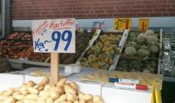 Kartoffeln gibt es auch...