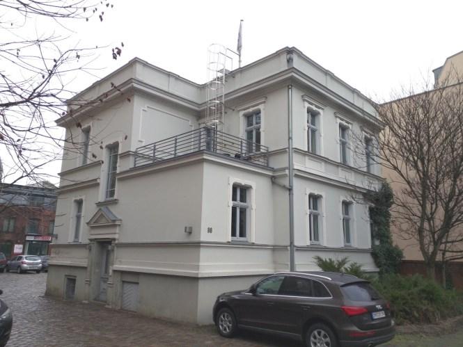 Weiße Villa Januar 2015