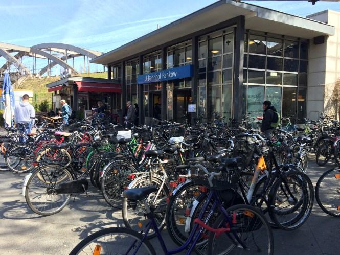Fahrradständer sind Mangelware