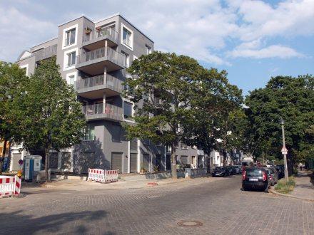 """Die Baugemeinschaft """"Himmel & Erde"""" in der Brehmestraße ist zwar noch nicht ganz fertig, aber bereits bezogen."""
