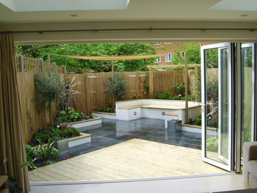 Contemporary Garden Designs | Stunning Garden Ideas ... on Modern Backyard Landscape Ideas id=37442