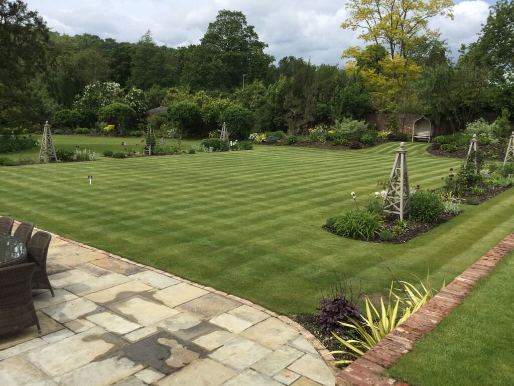 Large Garden Design | Floral & Hardy | London | UK on Big Backyard Landscaping Ideas id=63099