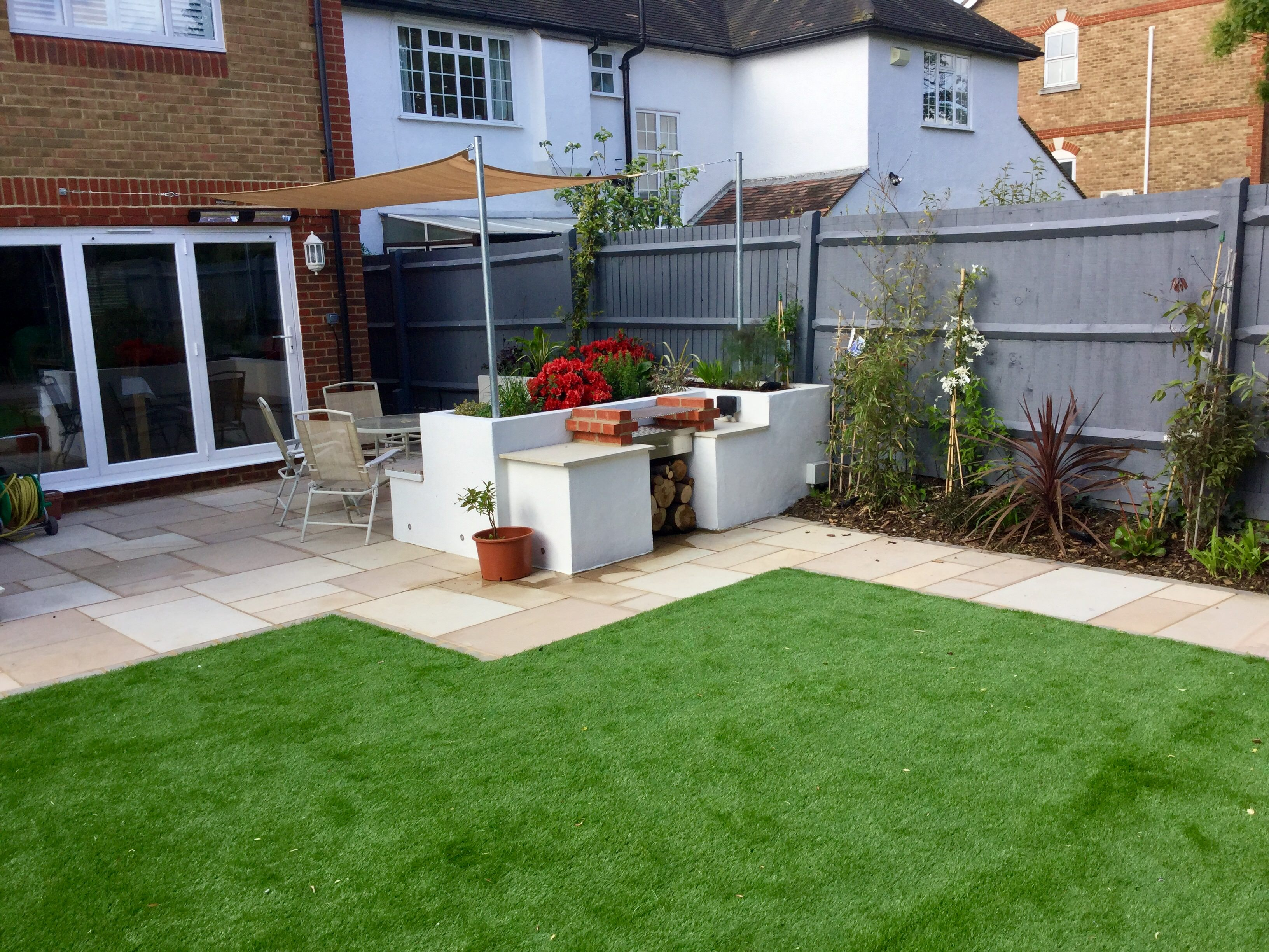 Patio designs for small gardens on Modern Backyard Patio Ideas  id=66960