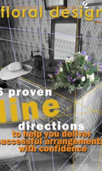 The use of line in floral design