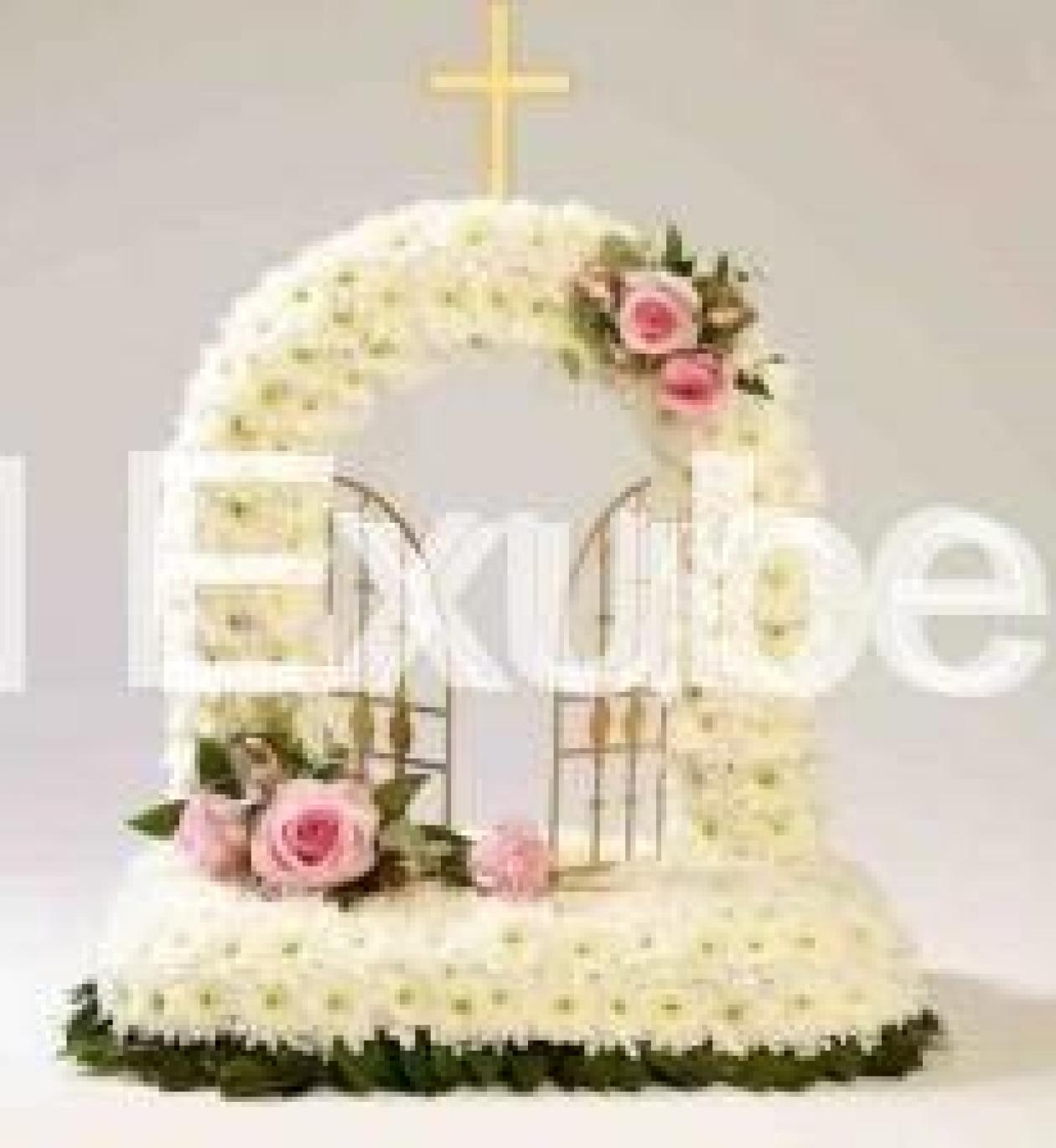 Funeral flowers gates of heaven floral exuberance funeral flowers gates of heaven izmirmasajfo Choice Image