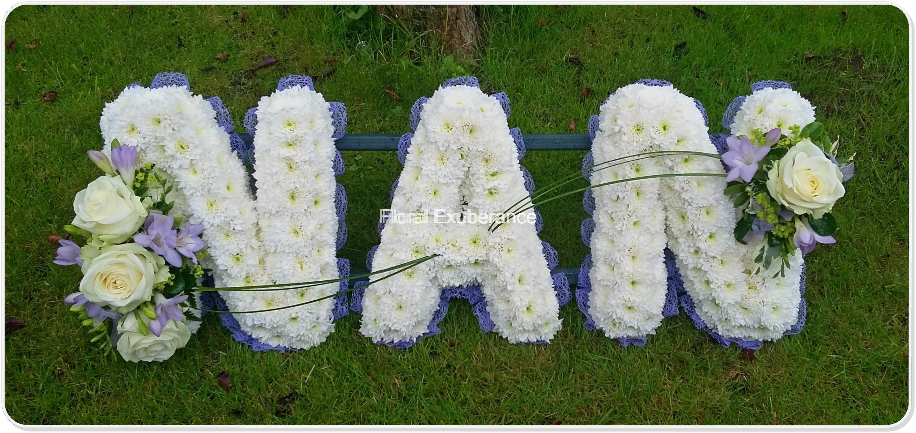 Funeral flowers brownhills walsall floral exuberance izmirmasajfo
