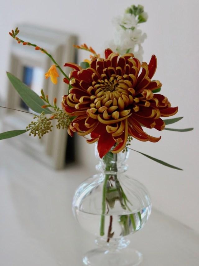 Poseur table flowers