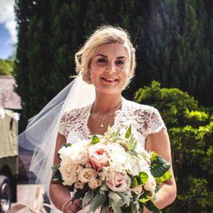 Floral Lounge Welton Church Bride