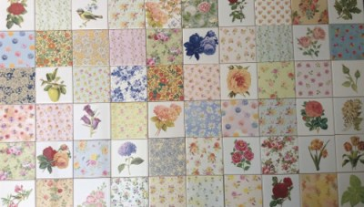 Decorative Ceramic Wall Tiles by FloralTiles.co.uk