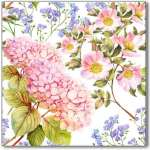 Hydrangea (Tile) Heaven - 15 Hydrangea Tiles Design Ideas