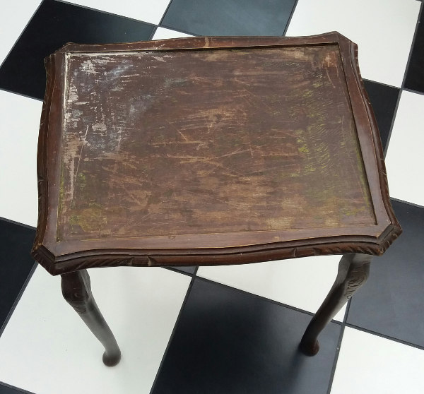 upcycling a tiled table create your