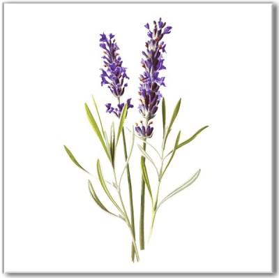 Kitchen tiles ideas - Lavender flower ceramic wall tiles