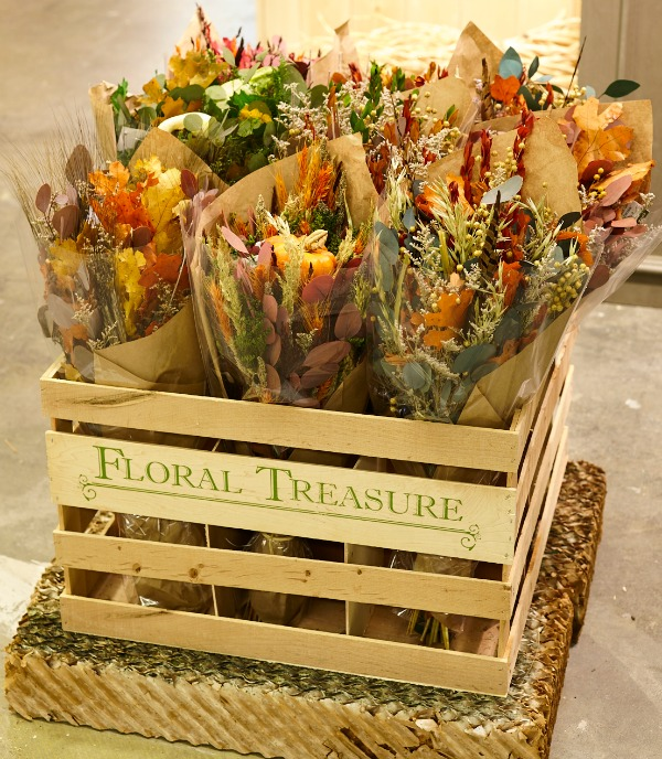 Floral Treasure Table Top Flowers