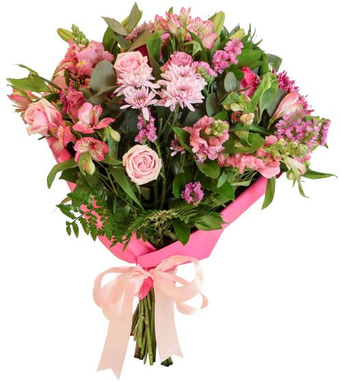Mixed Pinks Country Bunch