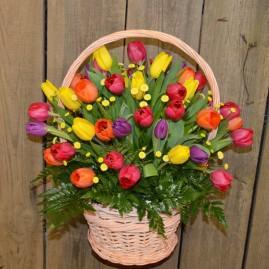 Tulpių krepšys