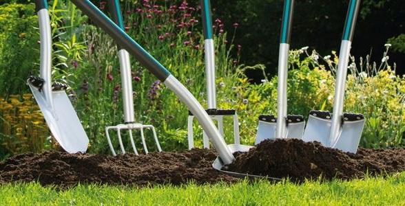 herramientas para jardinería